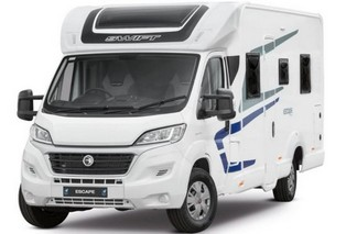 Swift Escape 664 4 berth motorhome for hire