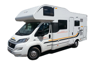 Adria Sun Living 6 berth motorhome for hire