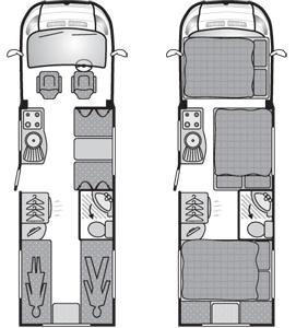 6 berth Swift 686floorplan